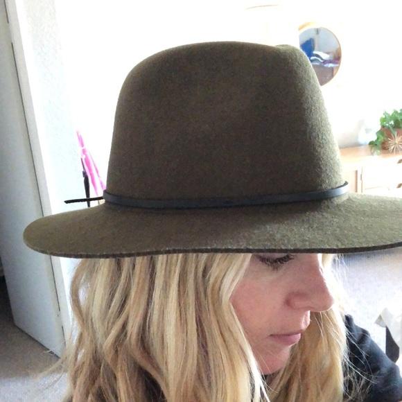 bb0dd3c56f26c Brixton Accessories - Brixton green hat medium